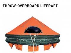 LIFERAFT THROW OVER BOARD